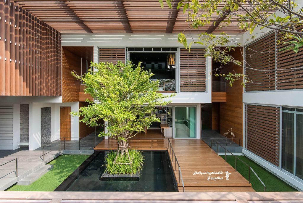 ایجاد فضای سبز اطراف خانه | فضای سبز