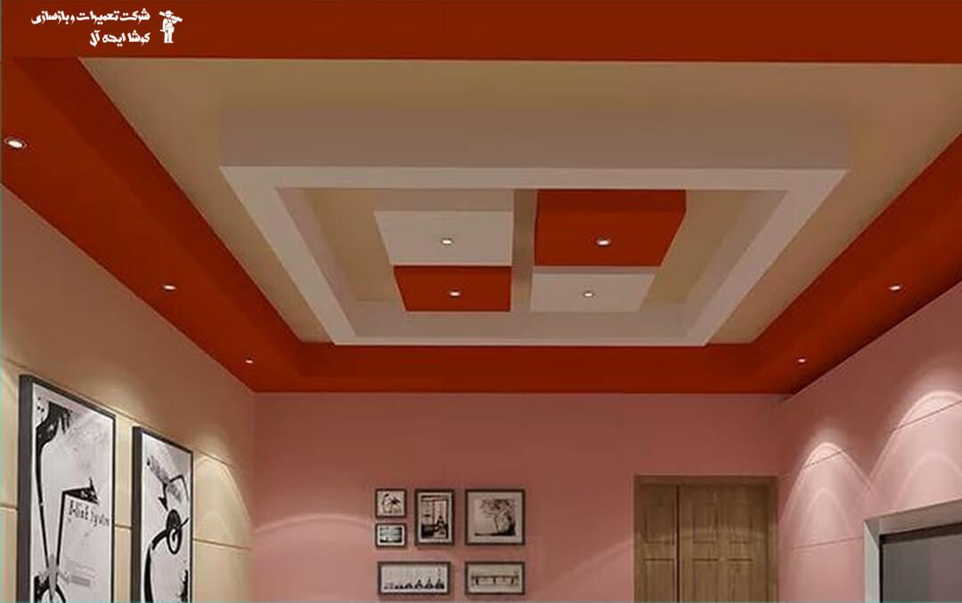 سقف کاذب | طراحی و اجرای سقف کاذب