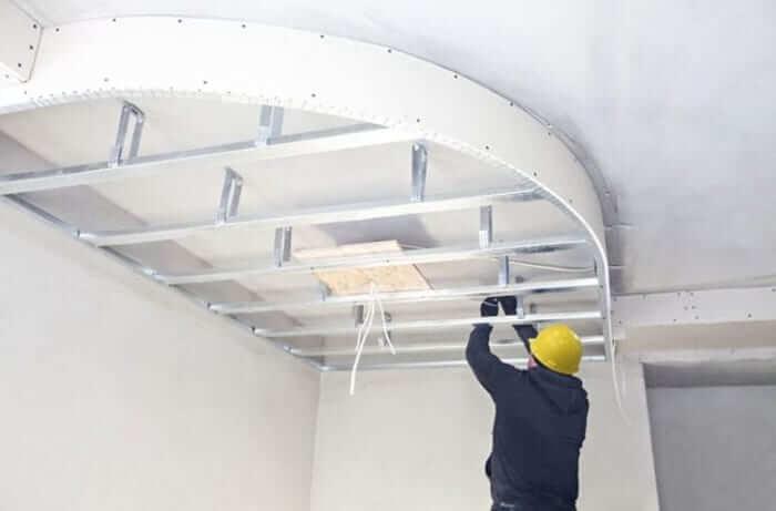 طراحی سقف کاذب | طراحی و اجرای سقف کاذب