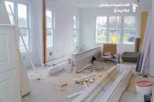 بازسازی خانه در پاسداران